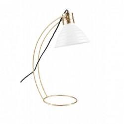 Lampa stołowa CURLY biała
