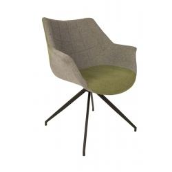 Fotel DOULTON zielony