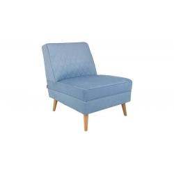 Fotel Lazy M jasnoniebieski