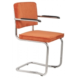 Fotel RIDGE KINK RIB pomarańczowy 19A