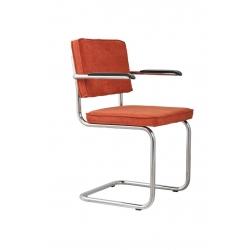 Fotel RIDGE RIB pomarańczowy 19A