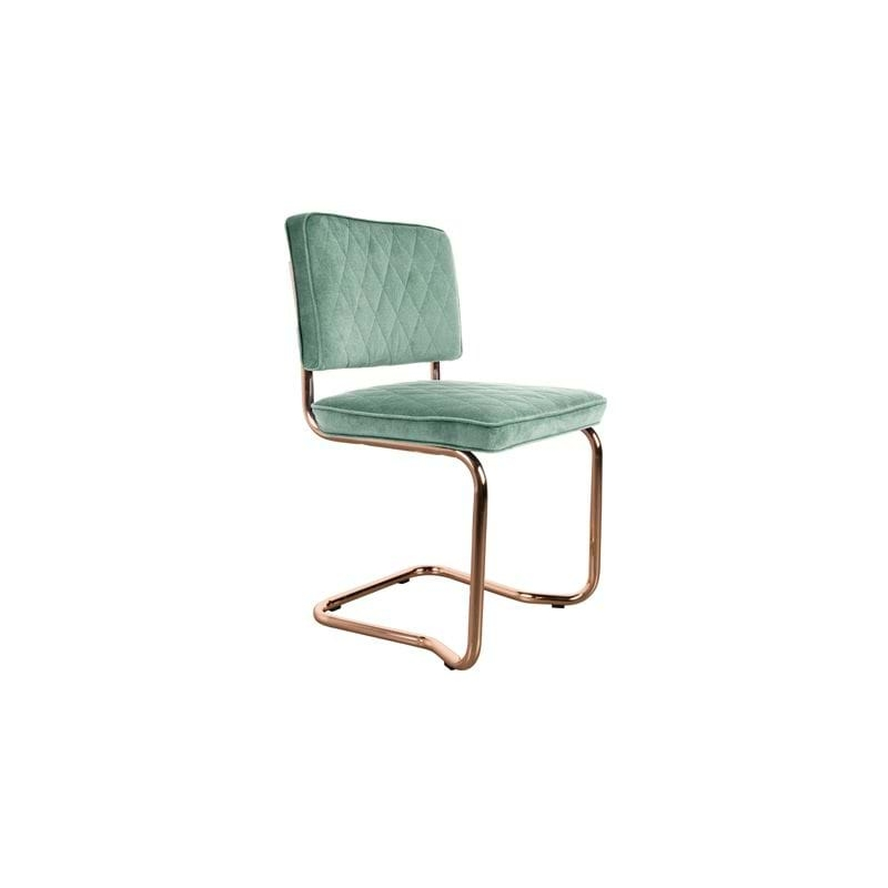 Krzesło DIAMOND KINK miętowa zieleń