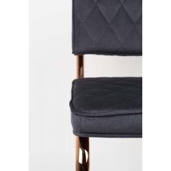 Krzesło DIAMOND KINK szary