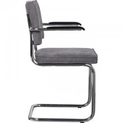 Krzesło RIDGE BRUSHED VINTAGE szare