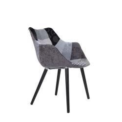 Krzesło TWELVE PATCHWORK szare