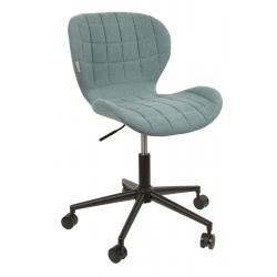 Krzesło biurowe OMG czarno - niebieskie