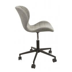 Krzesło biurowe OMG czarno -szare