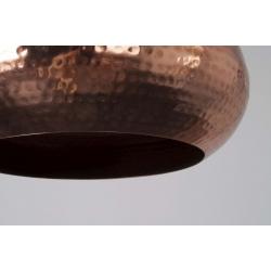 Lampa HAMMERED OVAL miedziana