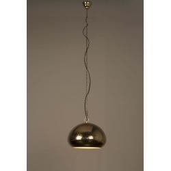 Lampa HAMMERED OVAL mosiężna