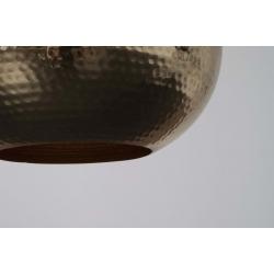 Lampa HAMMERED ROUND mosiężna