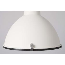 Lampa HAMMERED ROUND niklowana