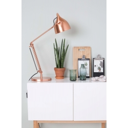 Lampa biurkowa READER miedziana