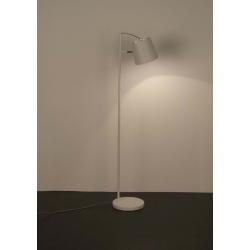 Lampa podłogowa BUCKLE HEAD biała
