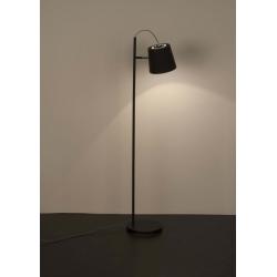 Lampa podłogowa BUCKLE HEAD czarna