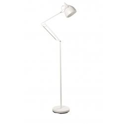 Lampa podłogowa READER MATT biała
