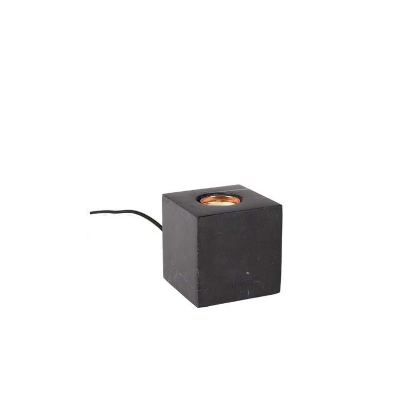 Lampa stołowa BOLCH marmurowa czarna