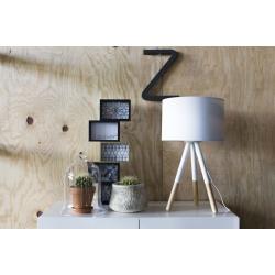 Lampa stołowa HIGHLAND biała