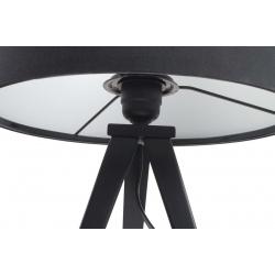 Lampa stołowa TRIPOD czarna