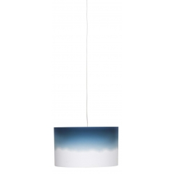 Lampa wisząca DIP DYE WIDE niebieska