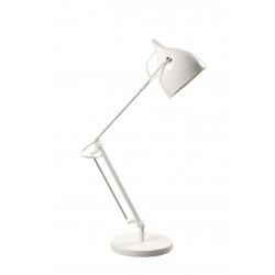 Lampka biurkowa READER MATT biała