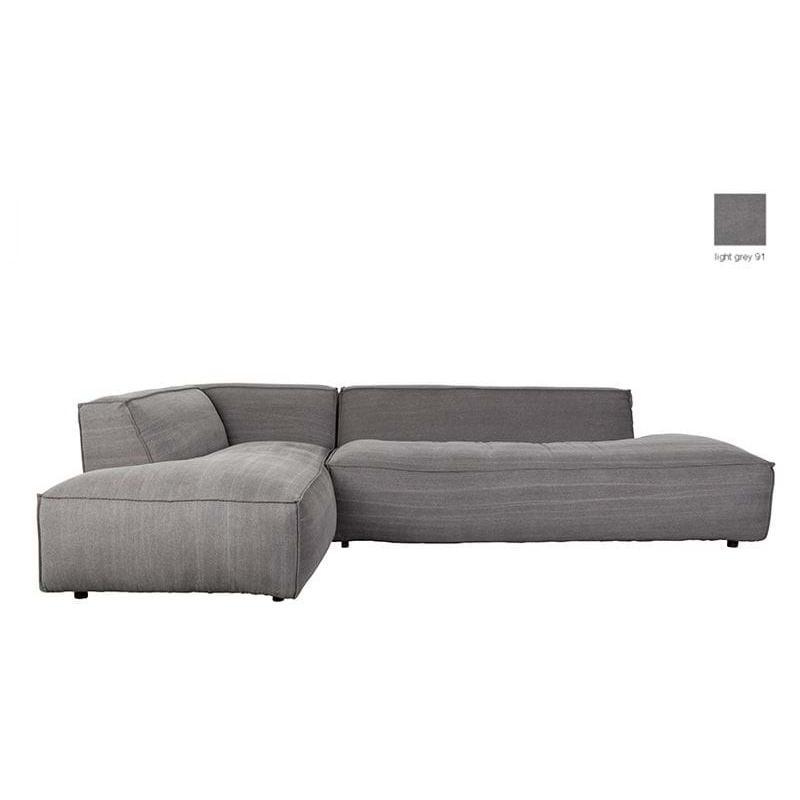 Sofa FAT FREDDY LEFT COMFORT L szara