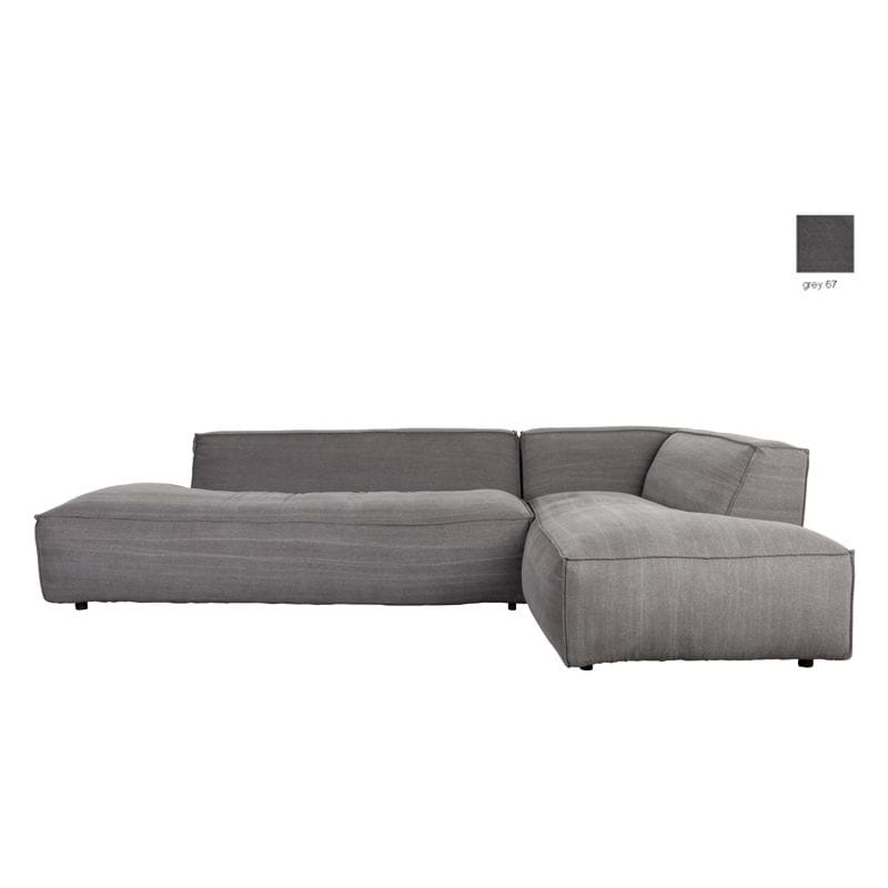 Sofa FAT FREDDY RIGHT STONE GREY
