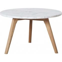 Stolik biały STONE L