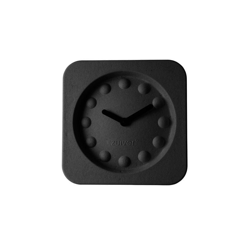 Zegar PULP TIME kwadratowy czarny