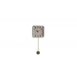 Zegar betonowy TIKTAK mosiężne elementy