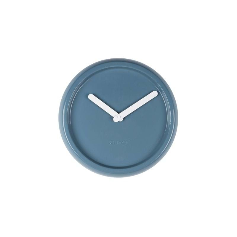 Zegar ceramiczny niebieski