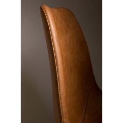 Stołek barowy FRANKY brązowy