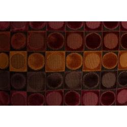 Poduszka OTTAVA czerwono - pomarańczowa