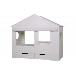 Łóżko w kształcie domku HUISIE