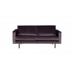 Sofa RODEO 2,5-osobowa aksamitna szara