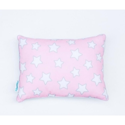 Poduszka Pink Stars and Chevron Mint