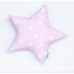 Poduszka Star Pink Stars and Mint Stars