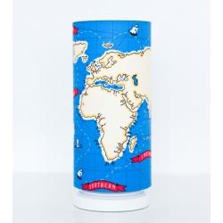 Lampka nocna Mapa Świata