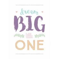 Plakat Dream Big Girl