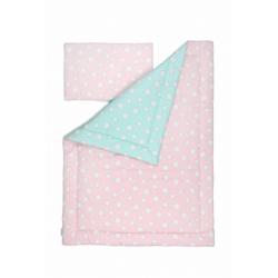 Pościel Pink and Mint Stars