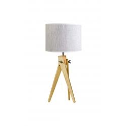 Lampa stołowa nocna sztalugowa trójnóg LW16-01-32