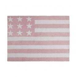 Dywan Flag American Baby Rosa 120x160cm