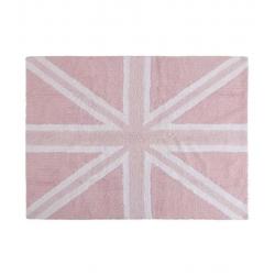 Dywan Flag England Baby Rosa 120x160cm