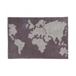 Dywan World Map 140x200cm